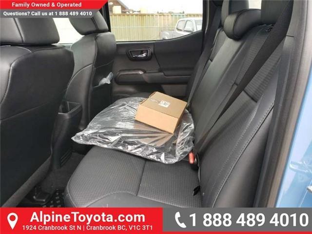 2019 Toyota Tacoma SR5 V6 (Stk: X042735) in Cranbrook - Image 16 of 17