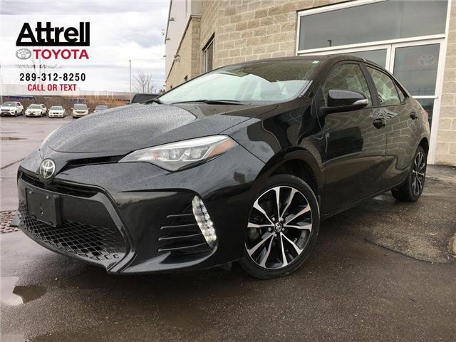 2017 Toyota Corolla SE UPGRADE PKG HEATED STEERING, ALLOYS, MOONROOF,  (Stk: 43962A) in Brampton - Image 1 of 28
