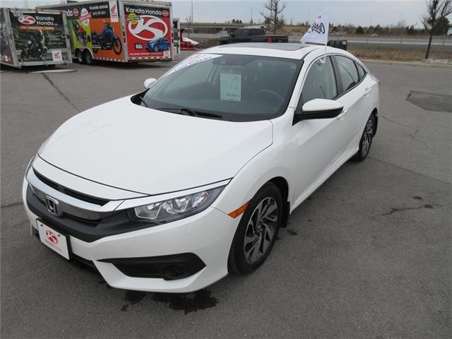 2017 Honda Civic EX (Stk: K14183A) in Ottawa - Image 1 of 19