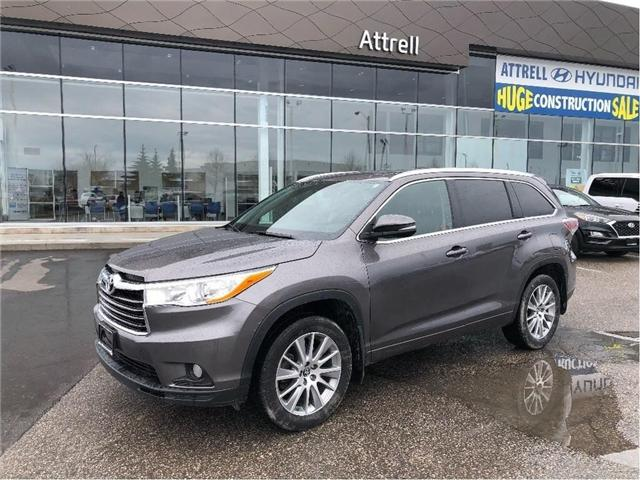 2016 Toyota Highlander XLE (Stk: 32685a) in Brampton - Image 1 of 17