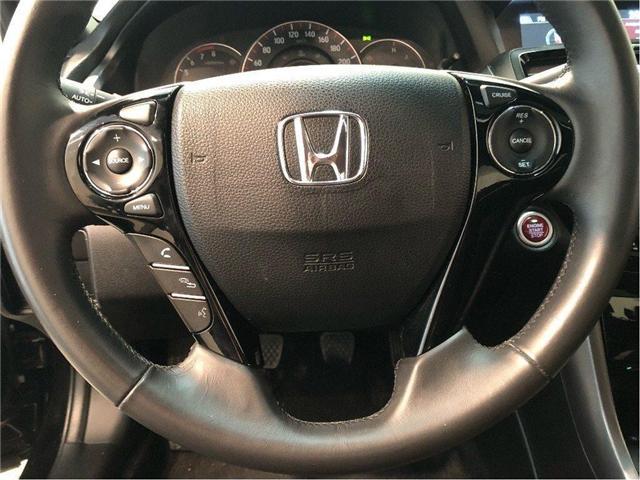 2016 Honda Accord Touring V6  2Dr w/ 6 Speed Manual Transmission (Stk: 38631) in Toronto - Image 14 of 30