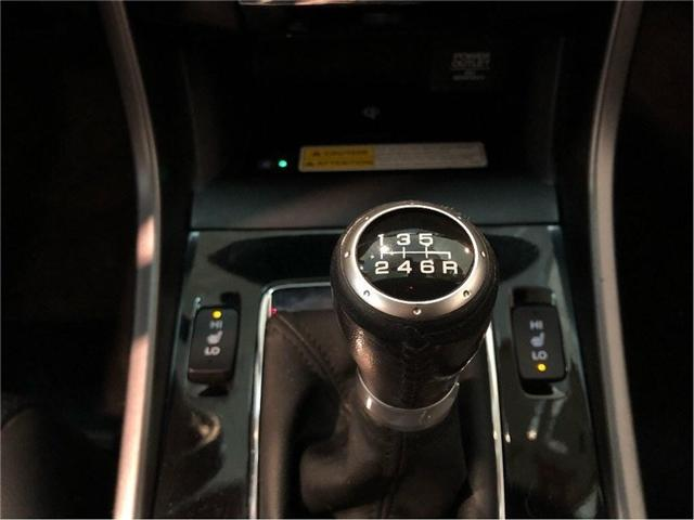 2016 Honda Accord Touring V6  2Dr w/ 6 Speed Manual Transmission (Stk: 38631) in Toronto - Image 24 of 30