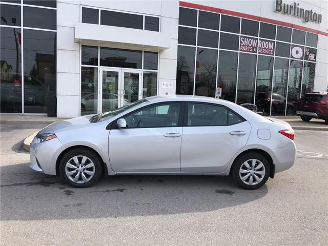 2016 Toyota Corolla LE (Stk: U10625) in Burlington - Image 2 of 17