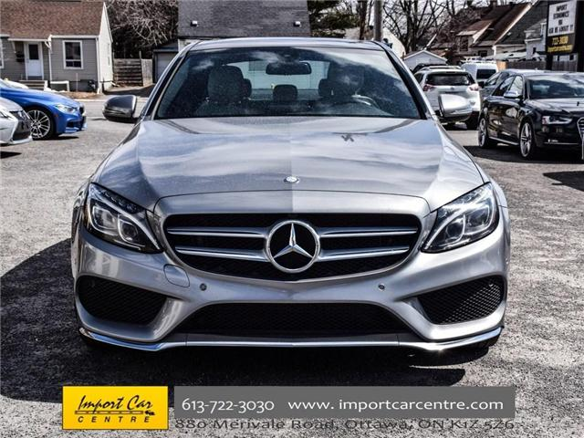 2016 Mercedes-Benz C-Class Base (Stk: 121982) in Ottawa - Image 2 of 30