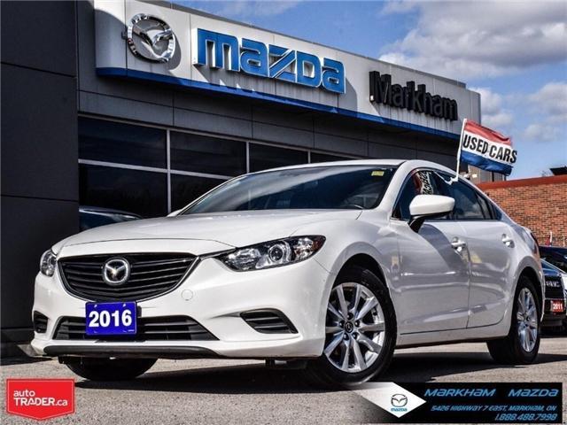 2016 Mazda MAZDA6 GS (Stk: G180598A) in Markham - Image 1 of 30