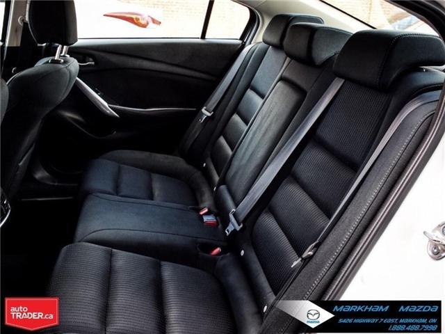 2016 Mazda MAZDA6 GS (Stk: G180598A) in Markham - Image 14 of 30