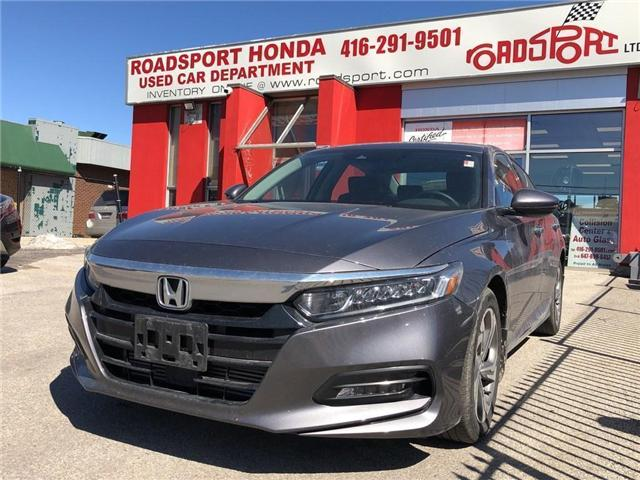 2018 Honda Accord EX-L (Stk: 57201A) in Scarborough - Image 1 of 5