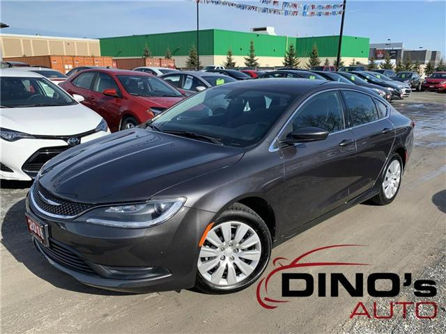 2016 Chrysler 200 LX (Stk: 195869) in Orleans - Image 1 of 25