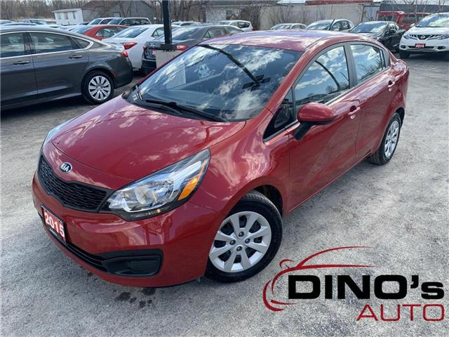 2015 Kia Rio  (Stk: 471127) in Orleans - Image 1 of 27