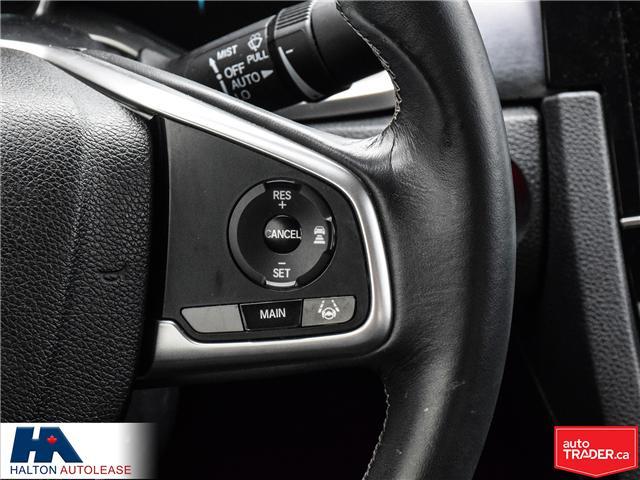 2016 Honda Civic Touring (Stk: ) in Burlington - Image 17 of 21