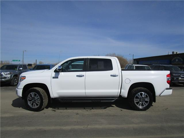 2019 Toyota Tundra Platinum 5.7L V8 (Stk: 199083) in Moose Jaw - Image 2 of 26