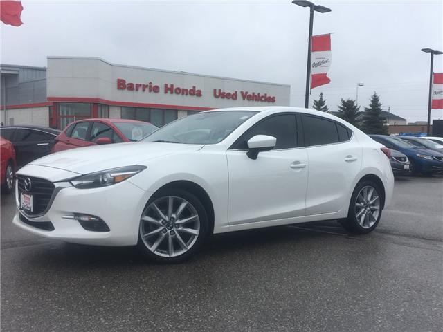 2017 Mazda Mazda3 GT (Stk: U17582) in Barrie - Image 1 of 18