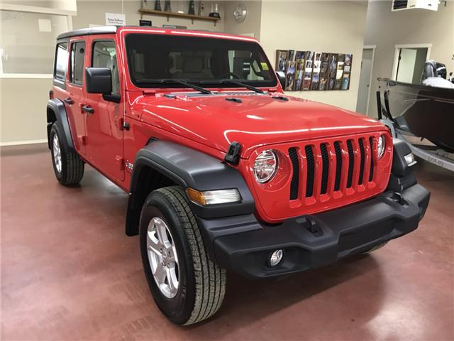 2018 Jeep Wrangler Unlimited Sport (Stk: N18-103) in Nipawin - Image 1 of 16
