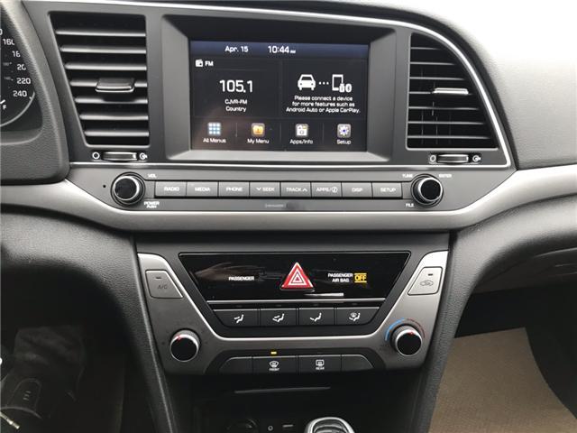 2018 Hyundai Elantra GL (Stk: U19-16) in Nipawin - Image 11 of 20