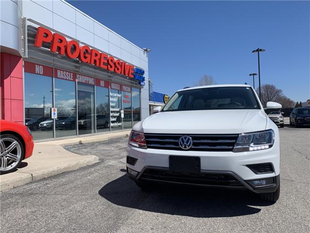 2018 Volkswagen Tiguan Comfortline (Stk: JM055904) in Sarnia - Image 2 of 28