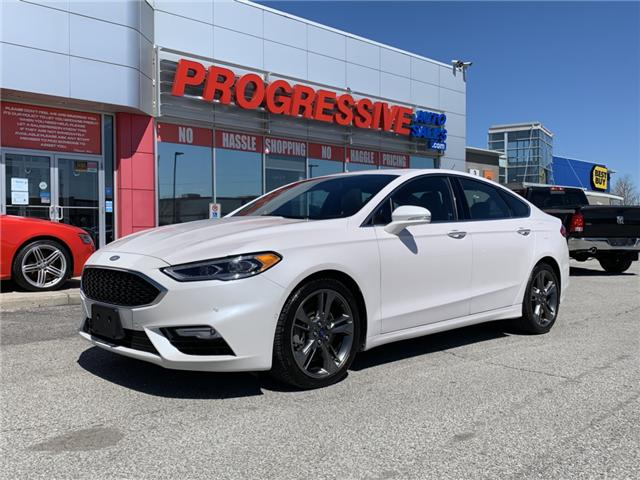2017 Ford Fusion V6 Sport (Stk: HR338107) in Sarnia - Image 1 of 25