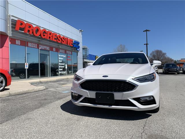 2017 Ford Fusion V6 Sport (Stk: HR338107) in Sarnia - Image 2 of 25