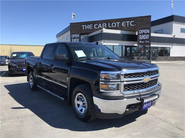 2015 Chevrolet Silverado 1500 WT (Stk: 19162) in Sudbury - Image 1 of 15