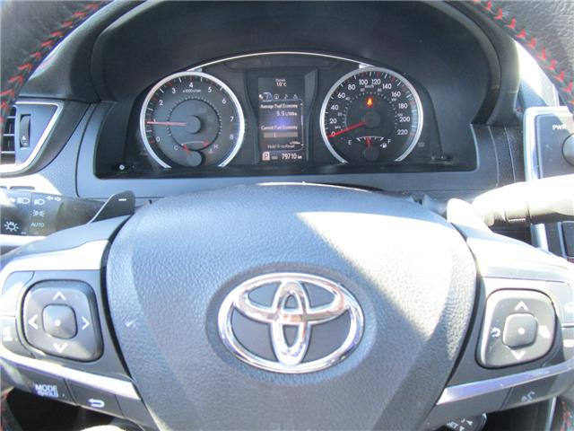 2015 Toyota Camry XSE V6 (Stk: 1880641) in Moose Jaw - Image 17 of 34