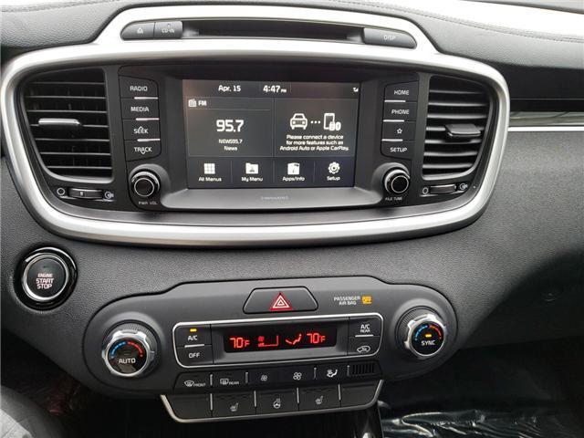 2019 Kia Sorento 3.3L EX+ (Stk: 19005) in Hebbville - Image 11 of 17