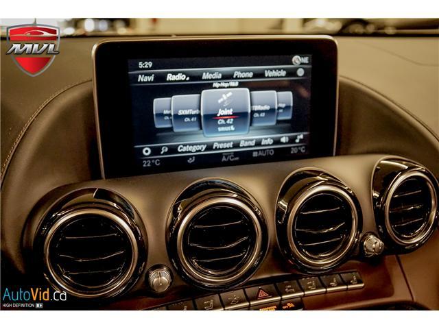 2018 Mercedes-Benz AMG GT C  (Stk: ) in Oakville - Image 29 of 38