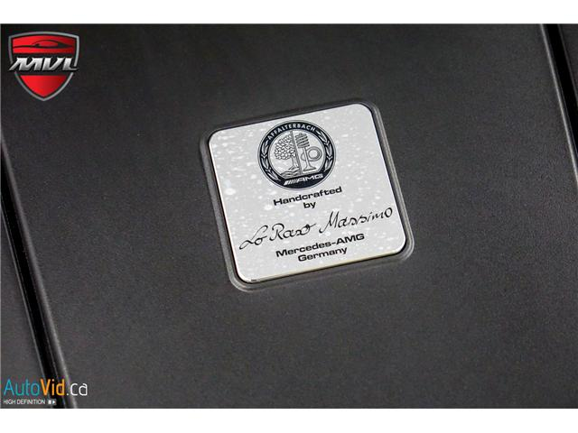 2018 Mercedes-Benz AMG GT C  (Stk: ) in Oakville - Image 37 of 38