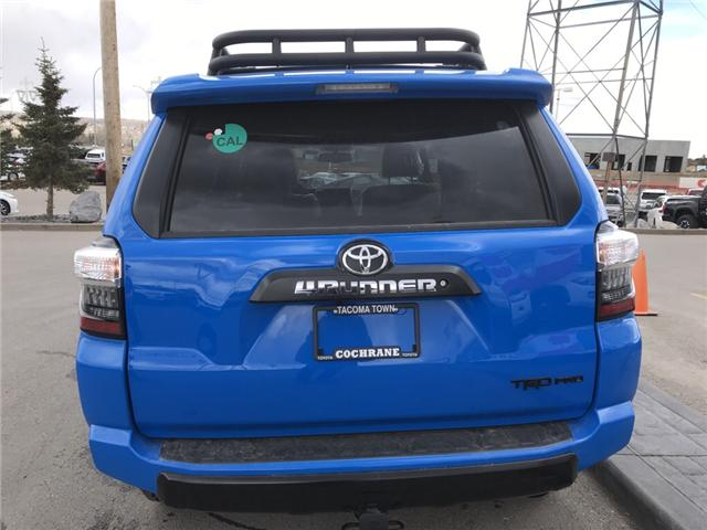 2019 Toyota 4Runner SR5 (Stk: 190235) in Cochrane - Image 4 of 14