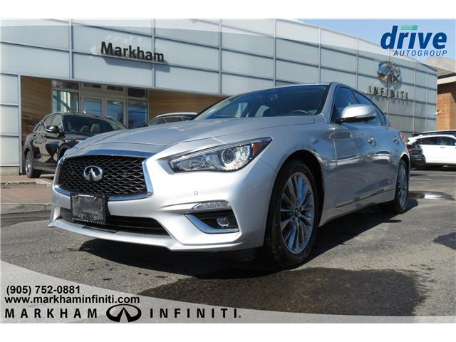 2019 Infiniti Q50 3.0t LUXE (Stk: K301) in Markham - Image 1 of 25