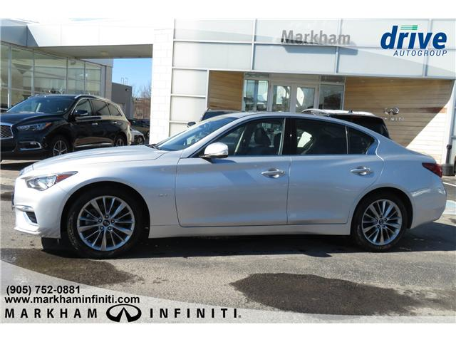 2019 Infiniti Q50 3.0t LUXE (Stk: K301) in Markham - Image 2 of 25