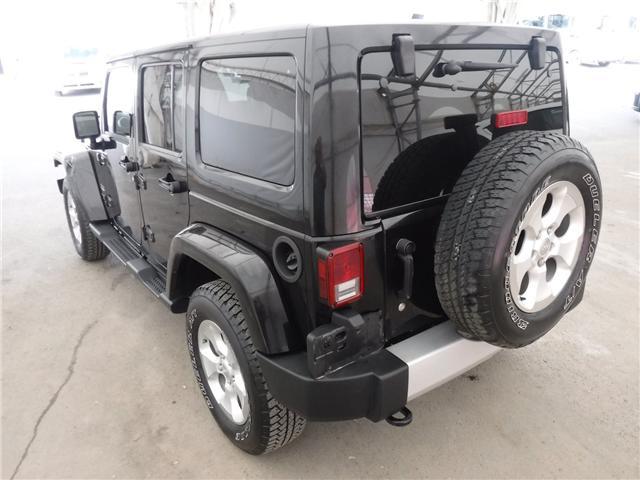 2014 Jeep Wrangler Unlimited Sahara (Stk: S1662) in Calgary - Image 8 of 22