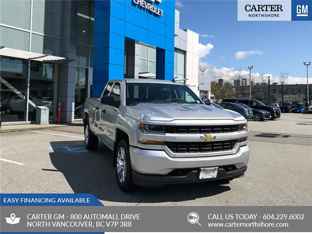 2019 Chevrolet Silverado 1500 LD Silverado Custom (Stk: 9L35810) in North Vancouver - Image 1 of 11