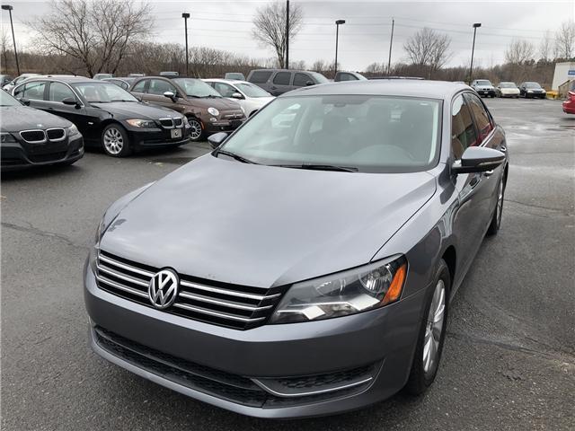 2012 Volkswagen Passat 2.5L Trendline+ (Stk: ) in Ottawa - Image 1 of 16