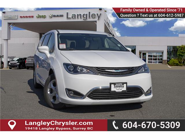 2018 Chrysler Pacifica Hybrid Touring Plus (Stk: J175665) in Surrey - Image 1 of 25