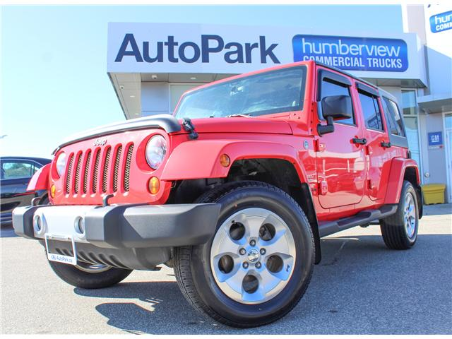 2013 Jeep Wrangler Unlimited Sahara (Stk: 13-595452) in Mississauga - Image 1 of 24
