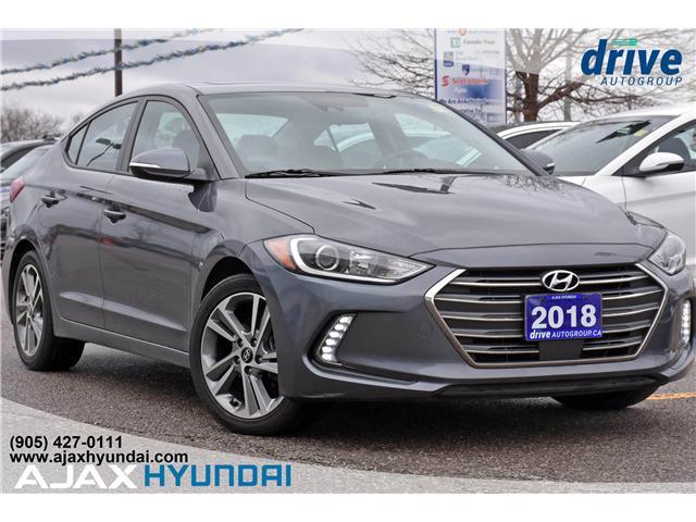2018 Hyundai Elantra GLS (Stk: P4689R) in Ajax - Image 1 of 31