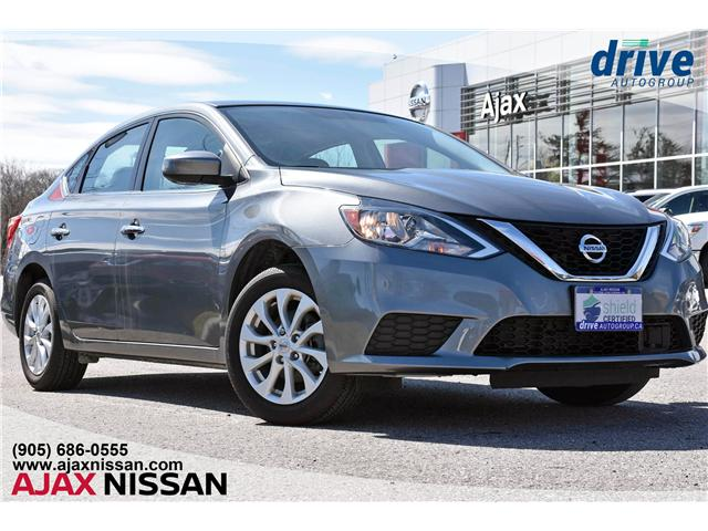 2018 Nissan Sentra 1.8 SV (Stk: P4120CV) in Ajax - Image 1 of 32