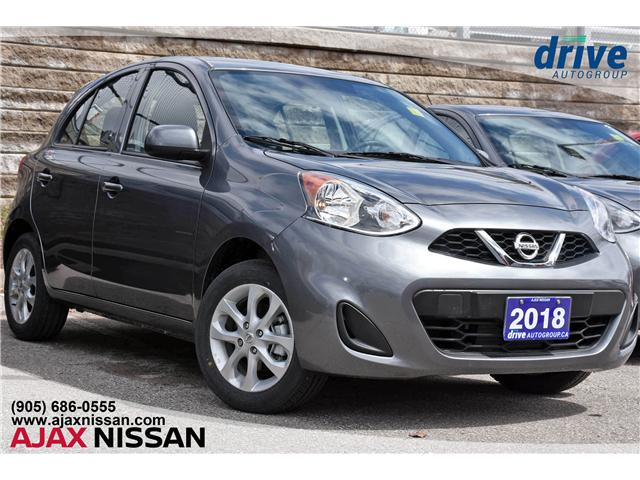 2018 Nissan Micra SV (Stk: P4122CV) in Ajax - Image 1 of 26