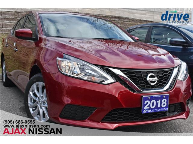 2018 Nissan Sentra 1.8 SV (Stk: P4123CV) in Ajax - Image 1 of 32