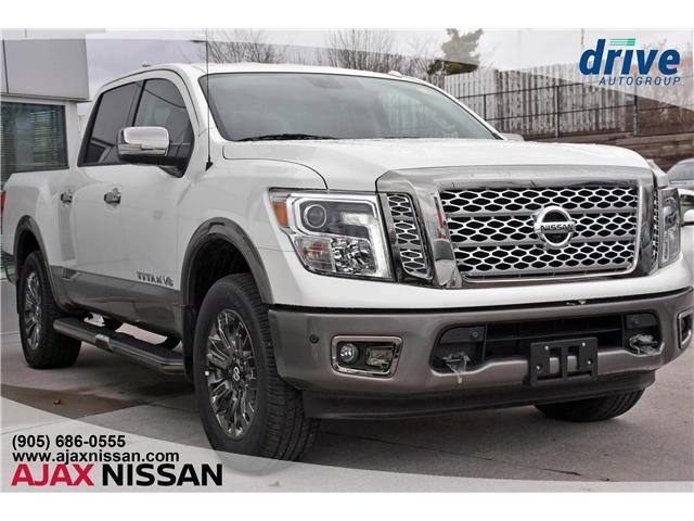 2018 Nissan Titan Platinum (Stk: P4111) in Ajax - Image 1 of 29
