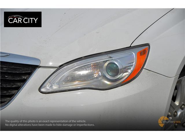 2013 Chrysler 200 Touring (Stk: 2597) in Ottawa - Image 7 of 20