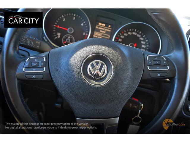 2014 Volkswagen Golf 2.0 TDI Comfortline (Stk: 2595) in Ottawa - Image 11 of 20