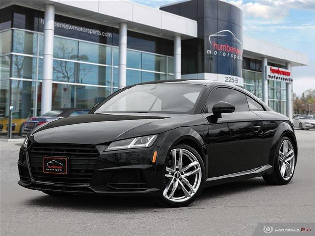 2016 Audi TT 2.0T (Stk: 19HMS175) in Mississauga - Image 1 of 27