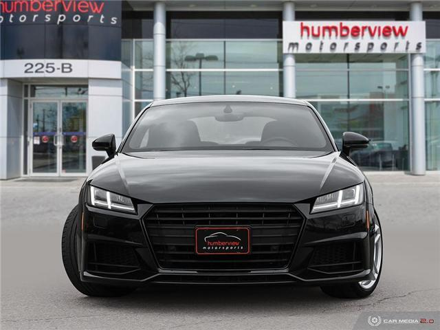 2016 Audi TT 2.0T (Stk: 19HMS175) in Mississauga - Image 2 of 27