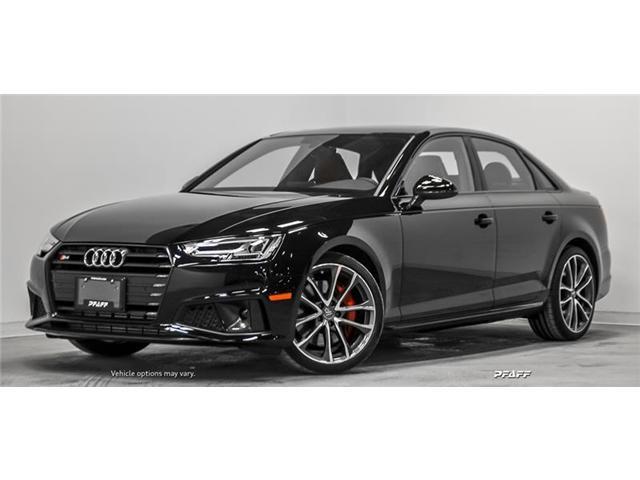 2019 Audi S4 3.0T Progressiv (Stk: T16671) in Vaughan - Image 1 of 22