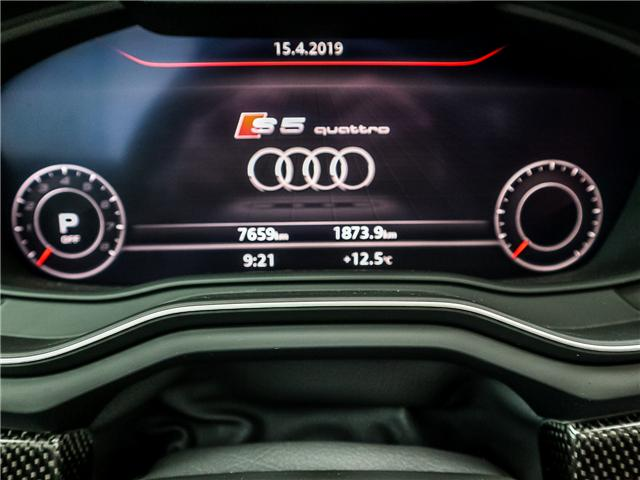 2018 Audi S5 3.0T Technik (Stk: P3117) in Toronto - Image 26 of 27