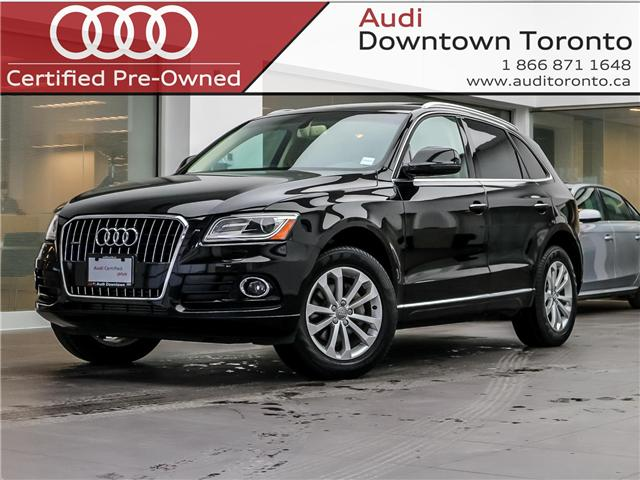 2016 Audi Q5 2.0T Progressiv (Stk: P3141) in Toronto - Image 1 of 26