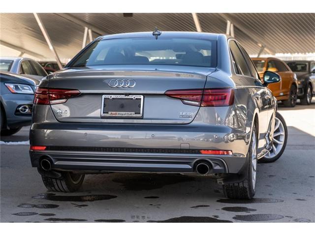 2018 Audi A4 2.0T Progressiv (Stk: N4776) in Calgary - Image 5 of 17