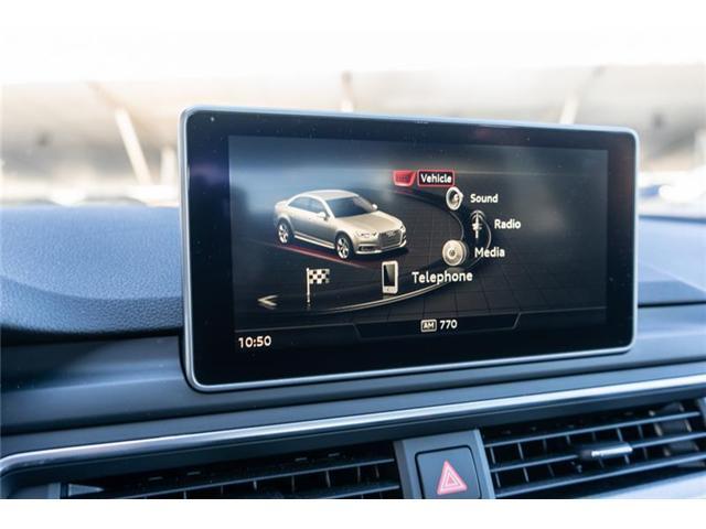 2018 Audi A4 2.0T Progressiv (Stk: N4776) in Calgary - Image 12 of 17