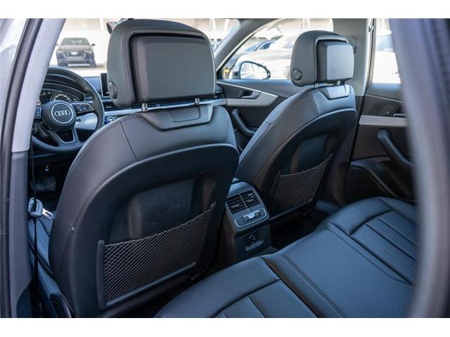 2018 Audi A4 2.0T Progressiv (Stk: N4776) in Calgary - Image 14 of 17