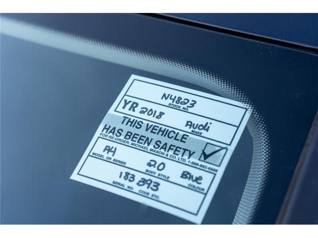2018 Audi A4 2.0T Progressiv (Stk: N4823) in Calgary - Image 5 of 18